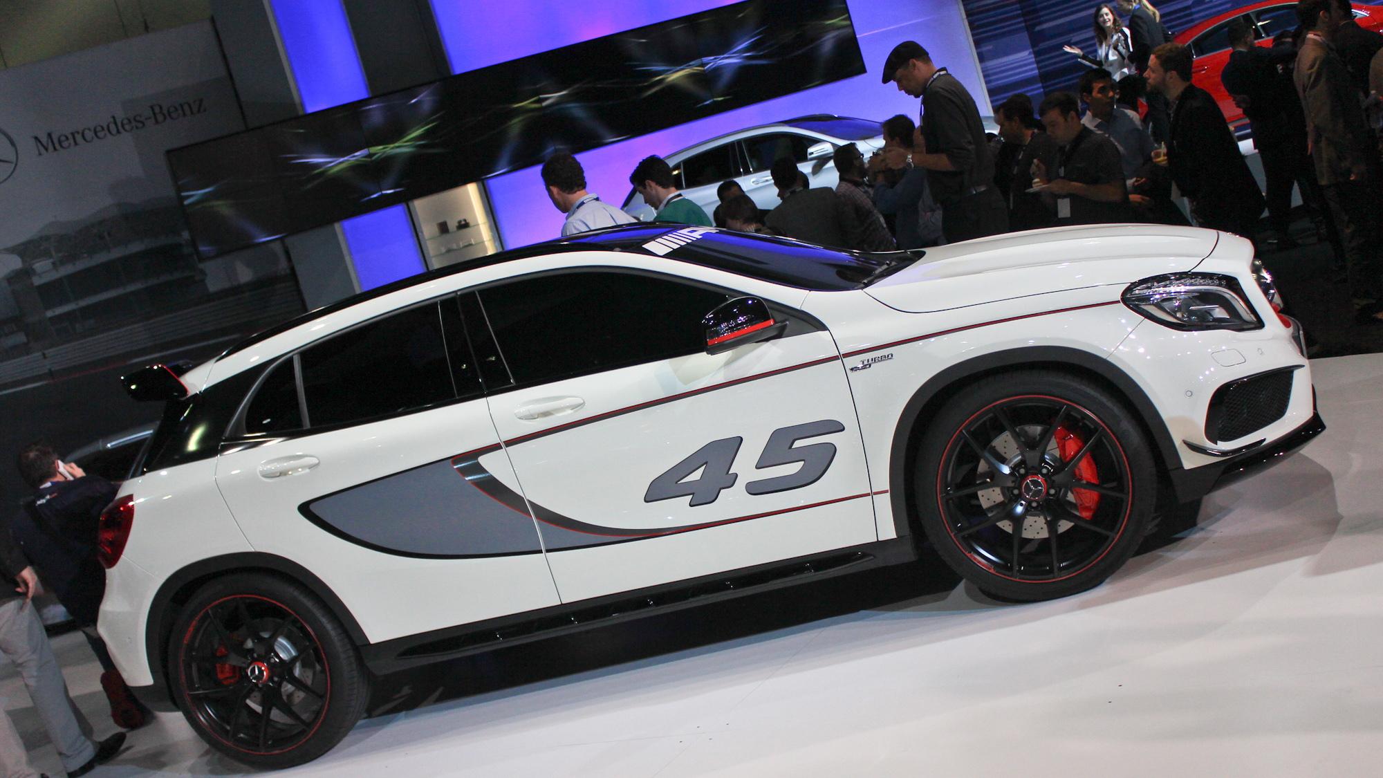 Mercedes-Benz Concept GLA45 AMG, 2013 Los Angeles Auto Show