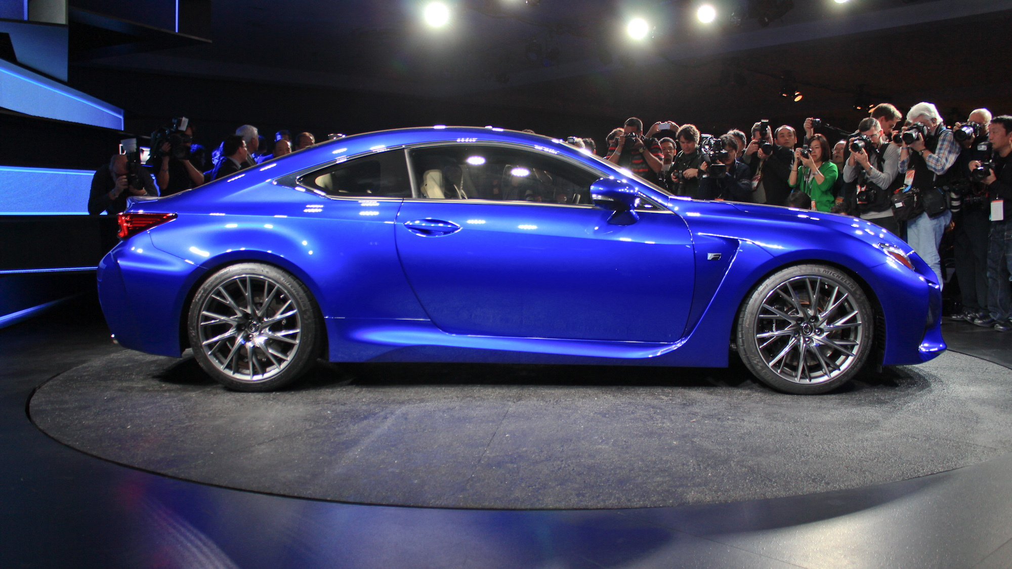 2015 Lexus RC F live photos, 2014 Detroit Auto Show