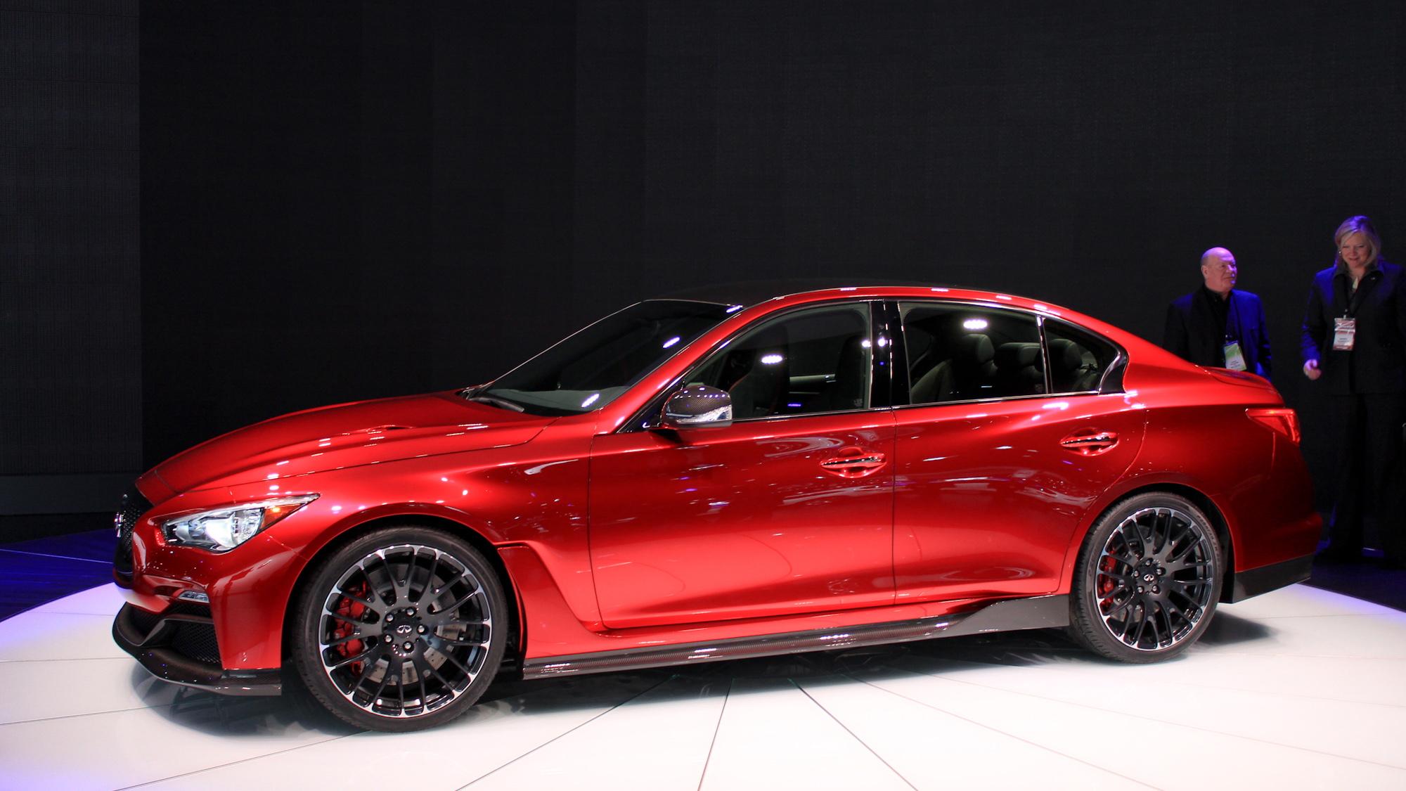 infiniti q50 eau rouge prototype to make dynamic debut at