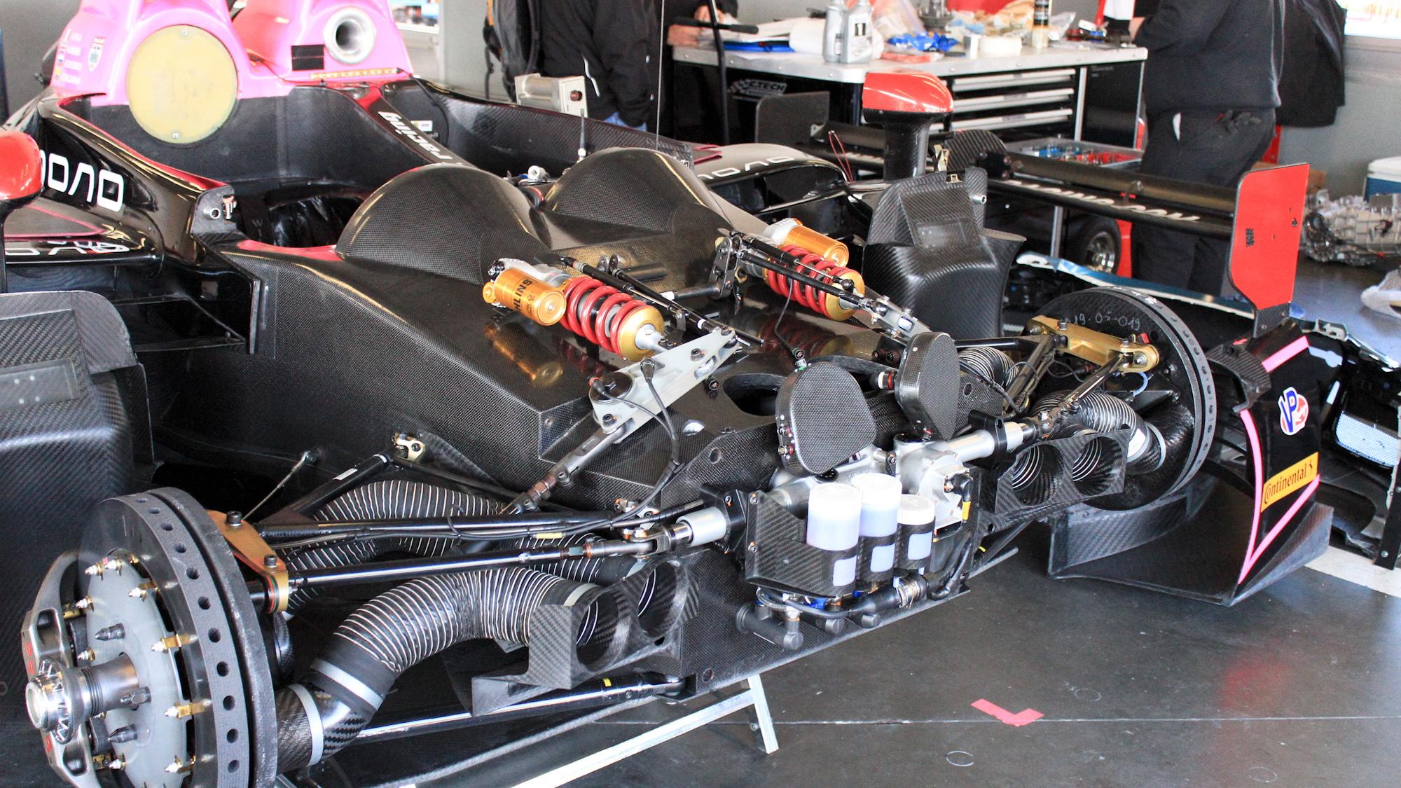 2014 Rolex 24 at Daytona, Friday, Garages