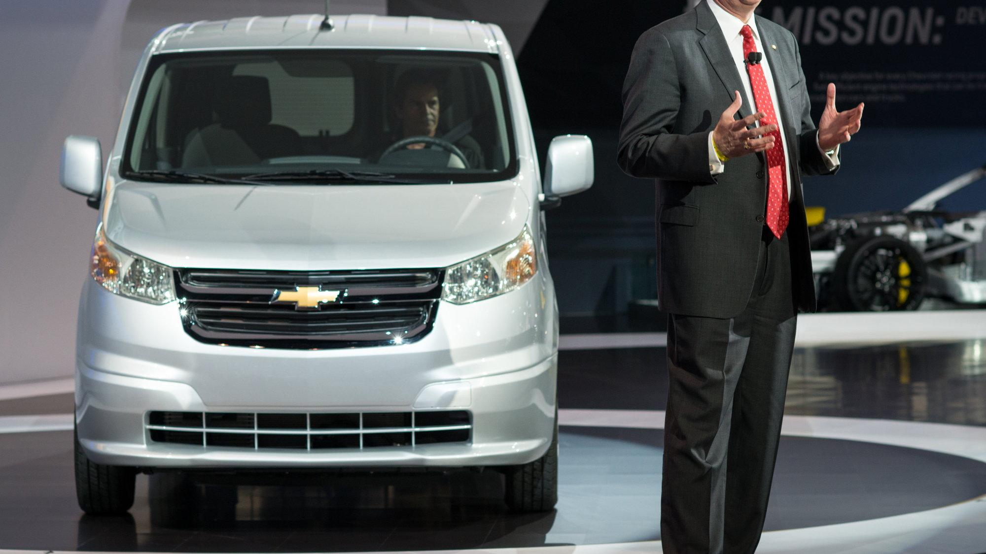 2015 Chevrolet City Express van, 2014 Chicago Auto Show