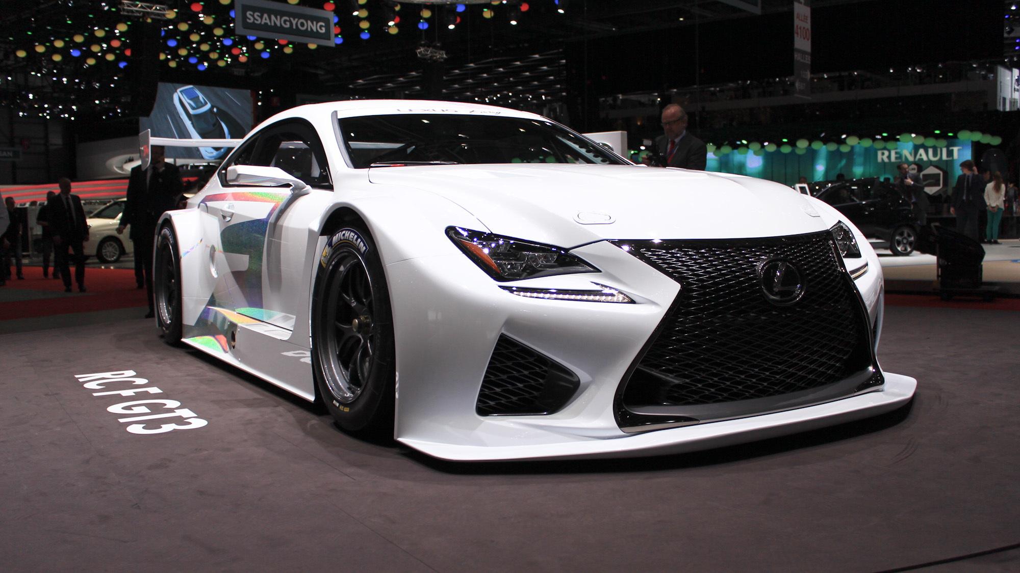 Lexus RC F GT3, 2014 Geneva Motor Show