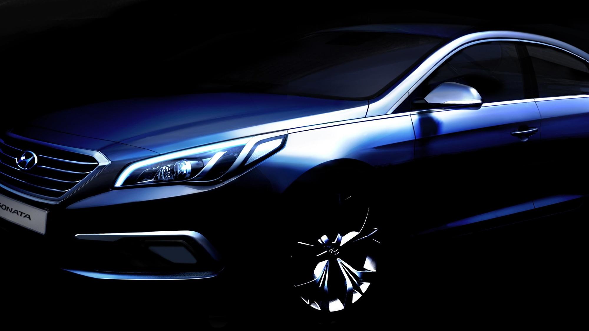2015 Hyundai Sonata teaser sketch