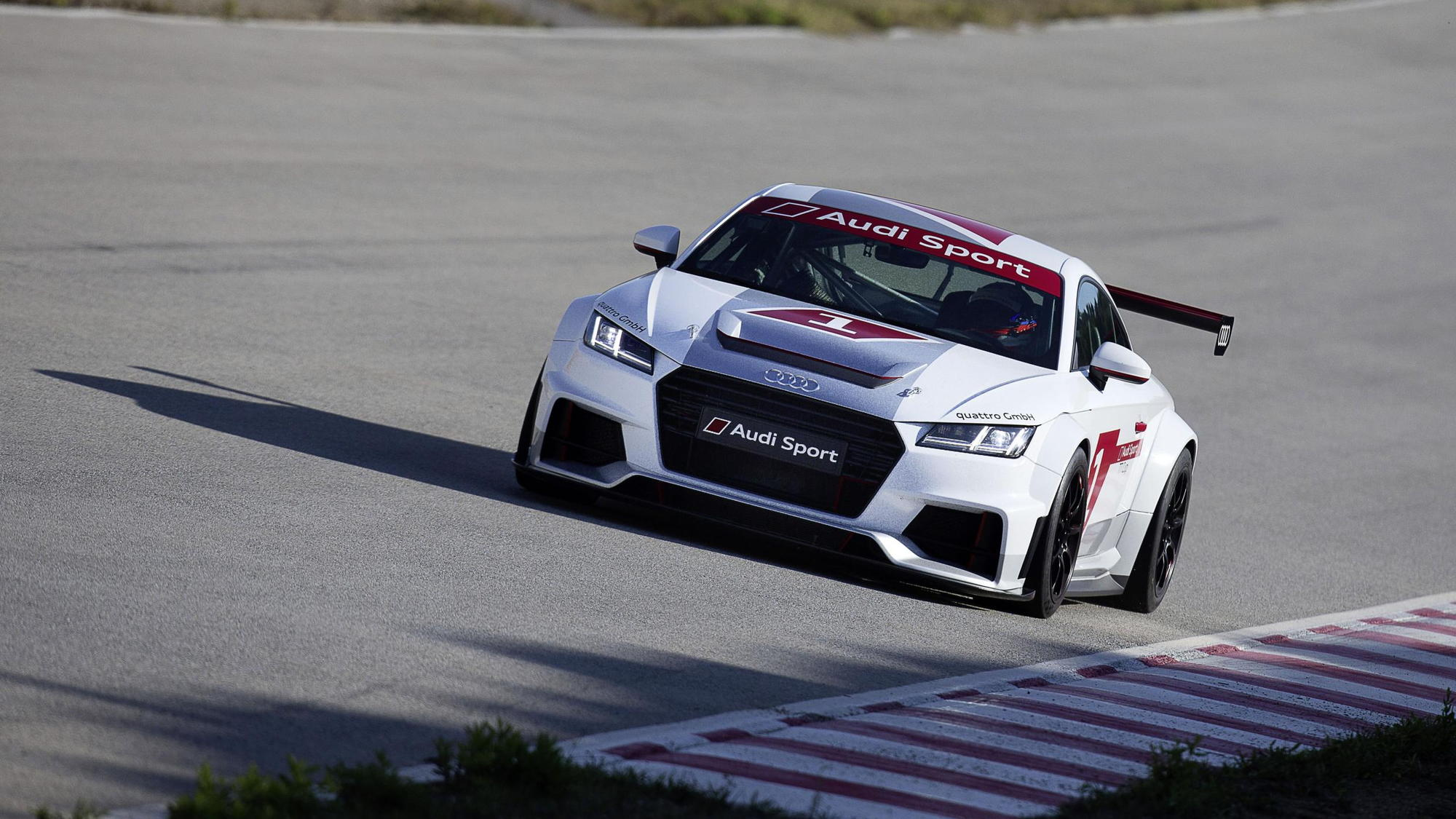 2015 Audi Sport TT Cup race car