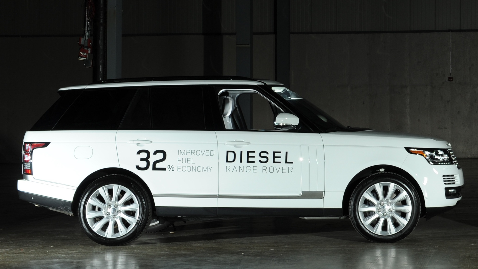 2016 Land Rover Range Rover and Range Rover Sport HSE Td6 diesel models, 2015 Detroit Auto Show