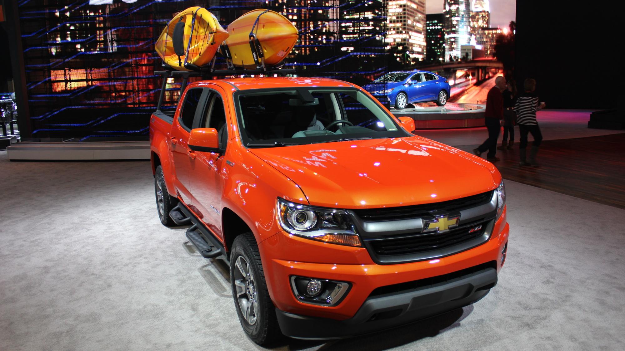 2015 Chevrolet Colorado GearOn Edition, 2015 Chicago Auto Show