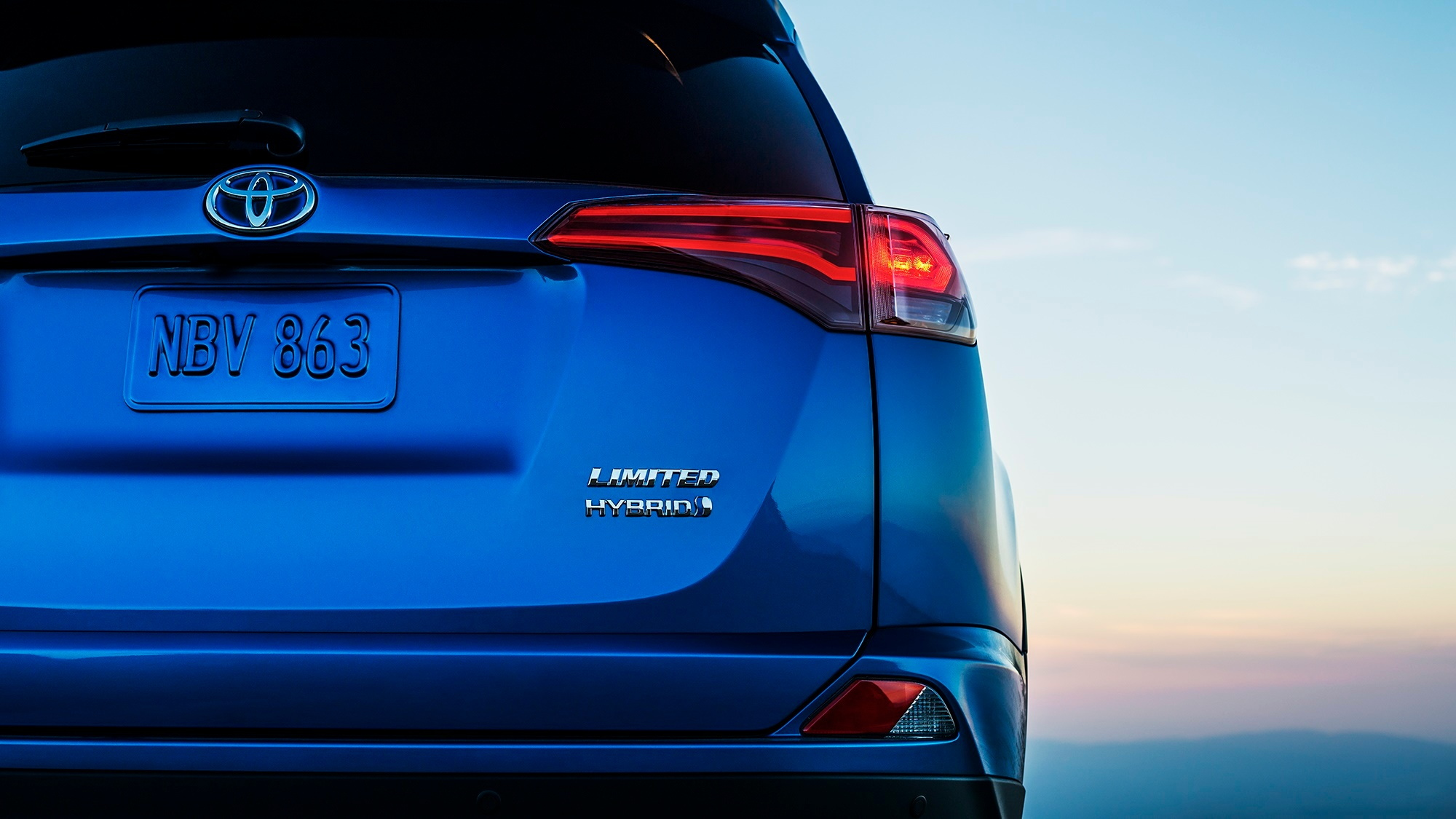 2016 Toyota RAV4 Hybrid teaser photo