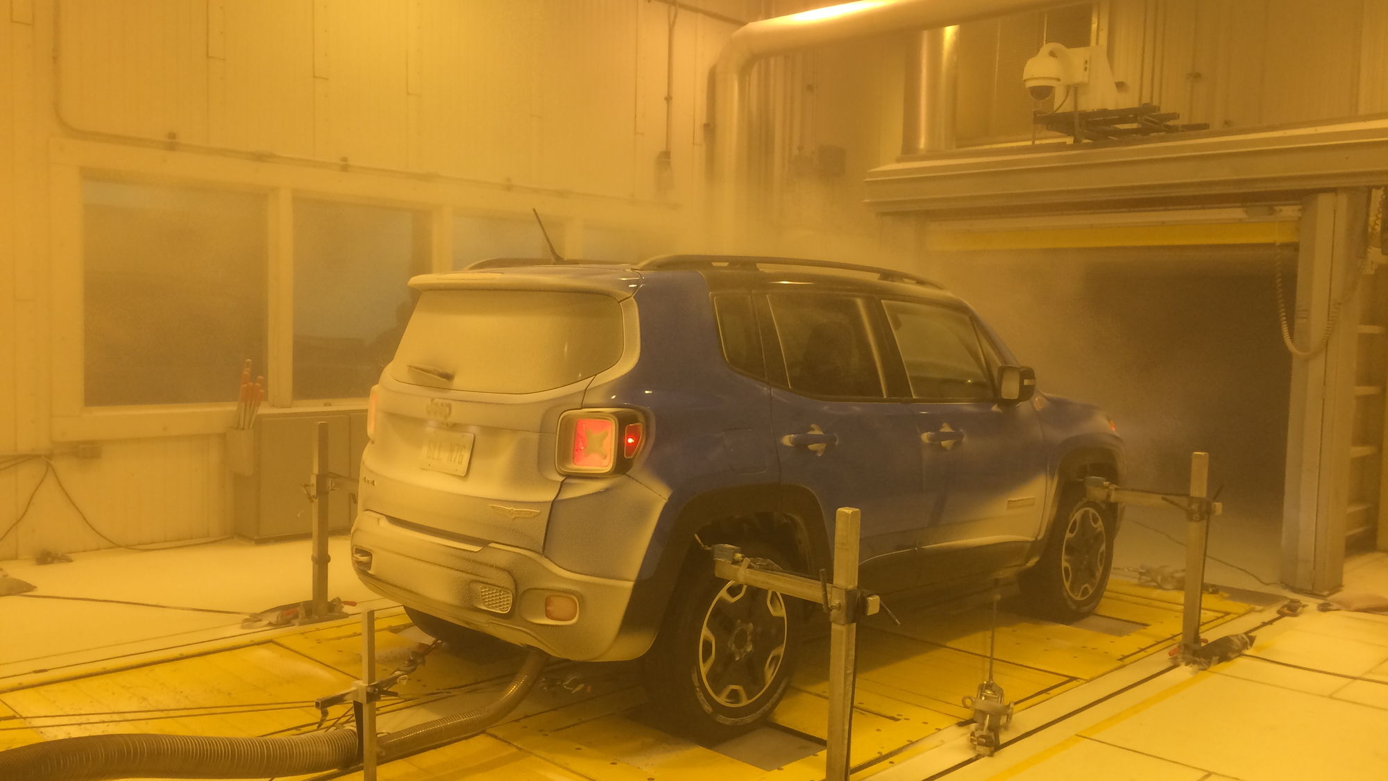 Jeep Renegade Cold Weather Dyno