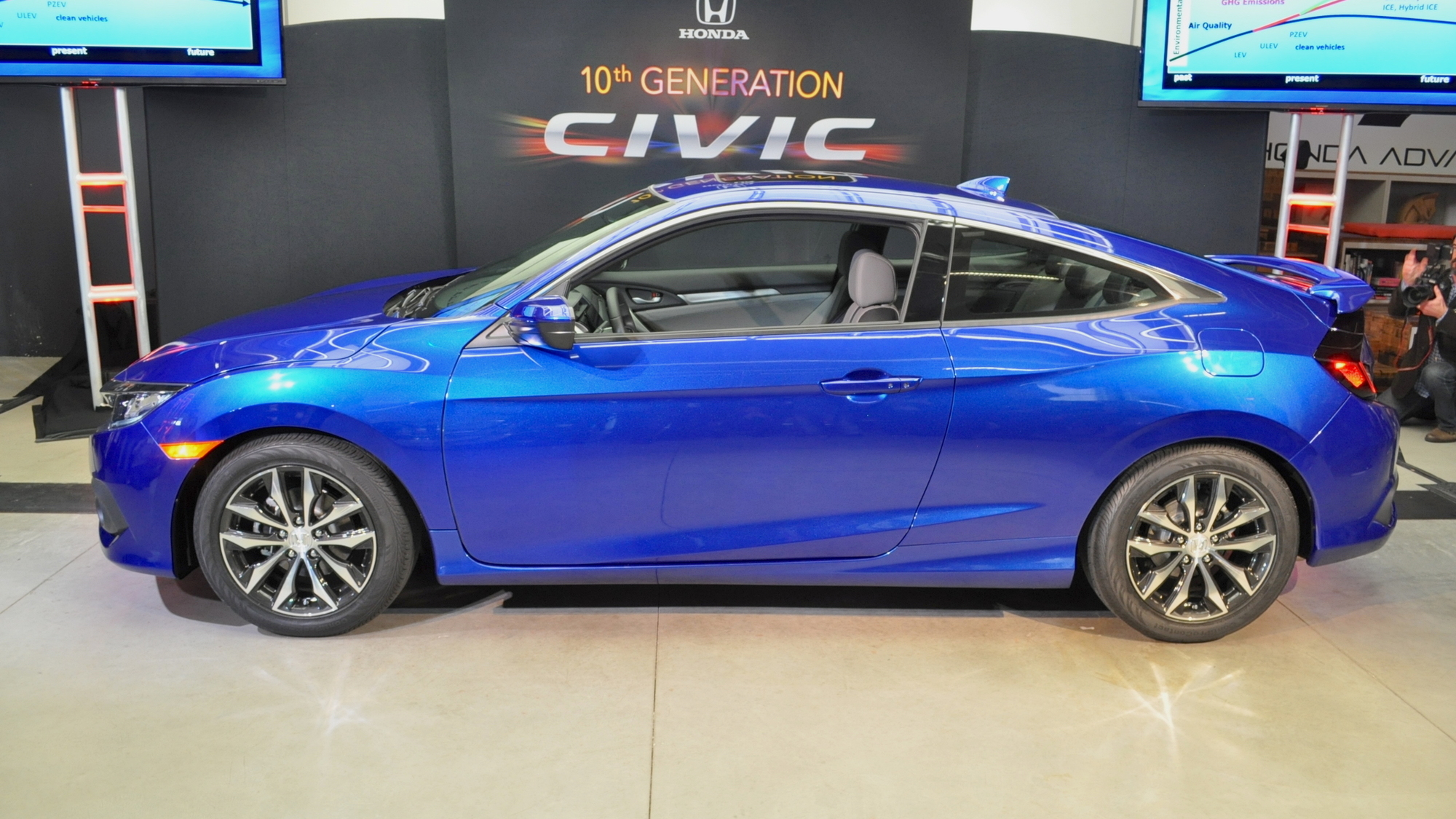 2016 Honda Civic Coupe, 2015 Los Angeles Auto Show