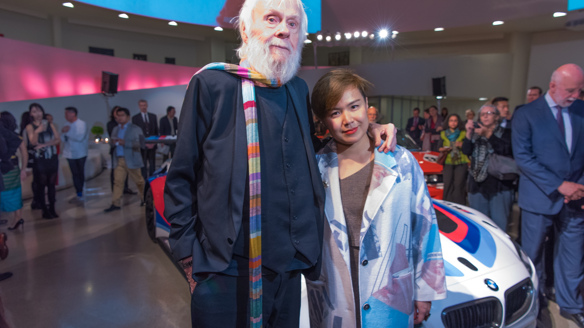 John Baldessari and Cao Fei, the new BMW Art Car artists