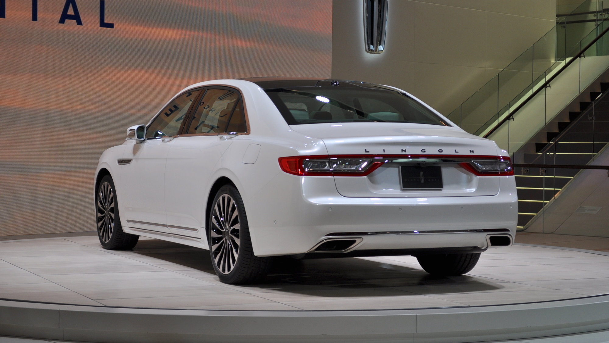 2017 Lincoln Continental, 2016 Detroit Auto Show