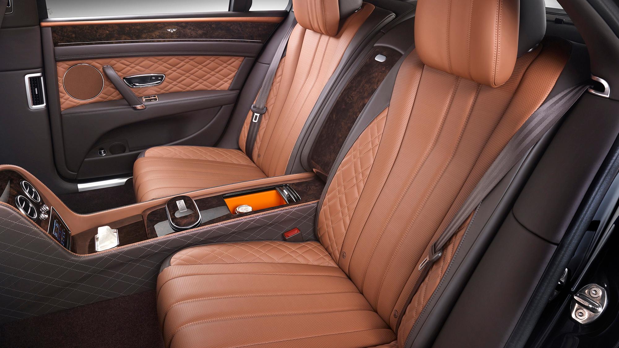Bentley Mulliner GQ Korea Rear Seats