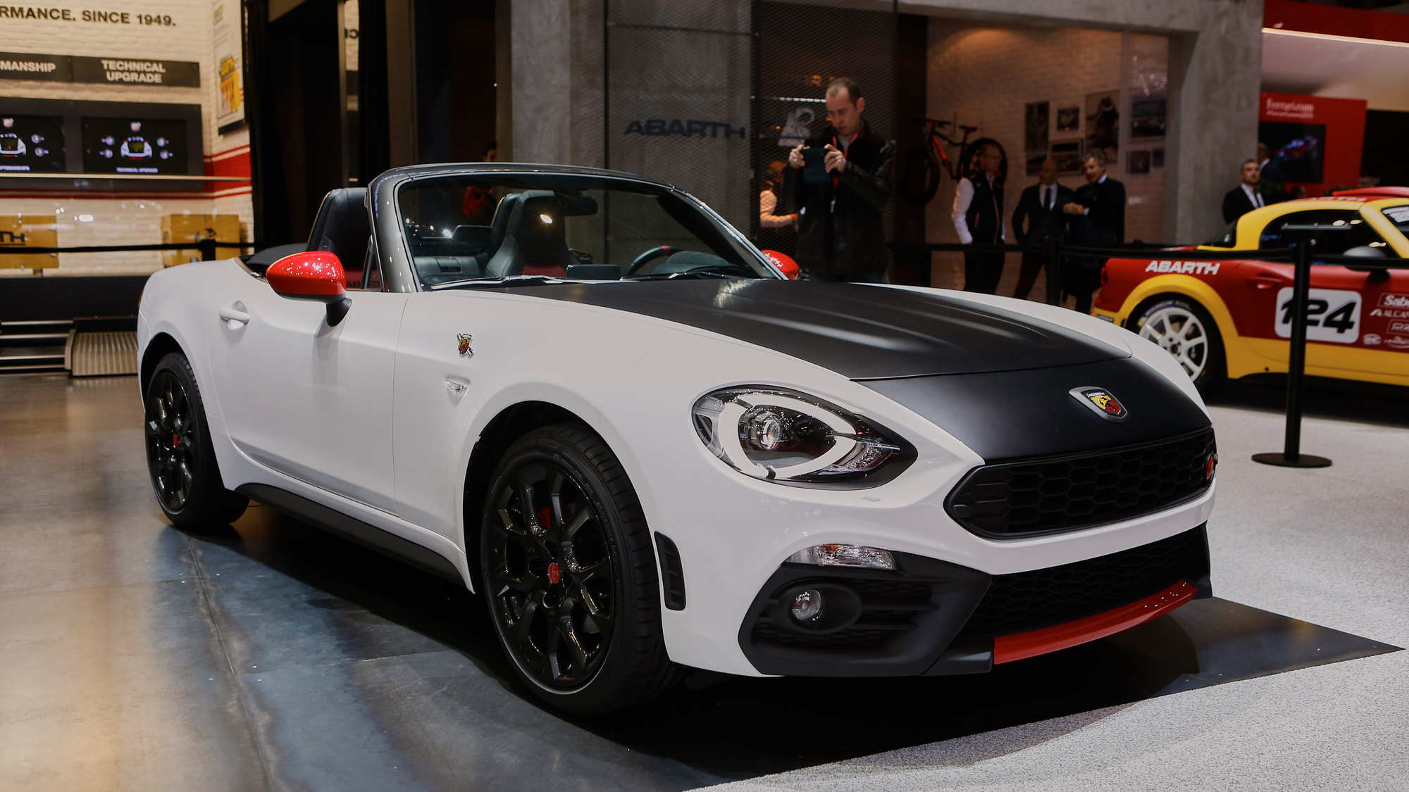 Abarth 124 Spider Live Photos, 2016 Geneva Motor Show