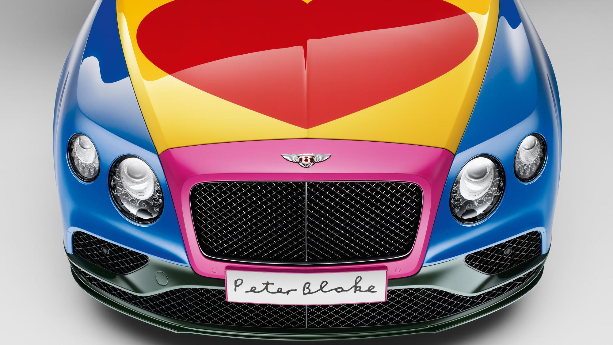 Bentley Continental GT S V8 Convertible by Sir Peter Blake