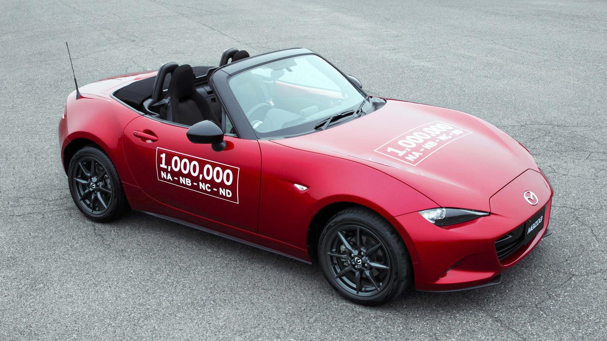 One millionth Mazda MX-5 Miata