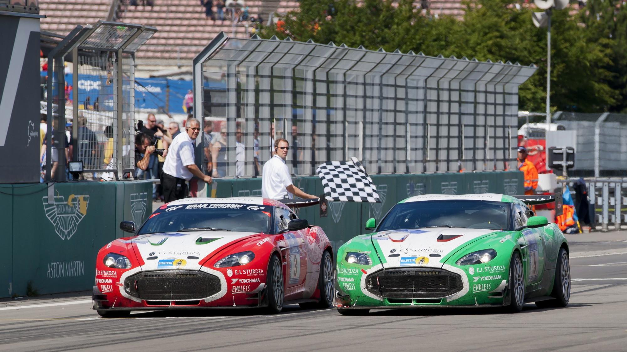 2011 Aston Martin V12 Zagato Race