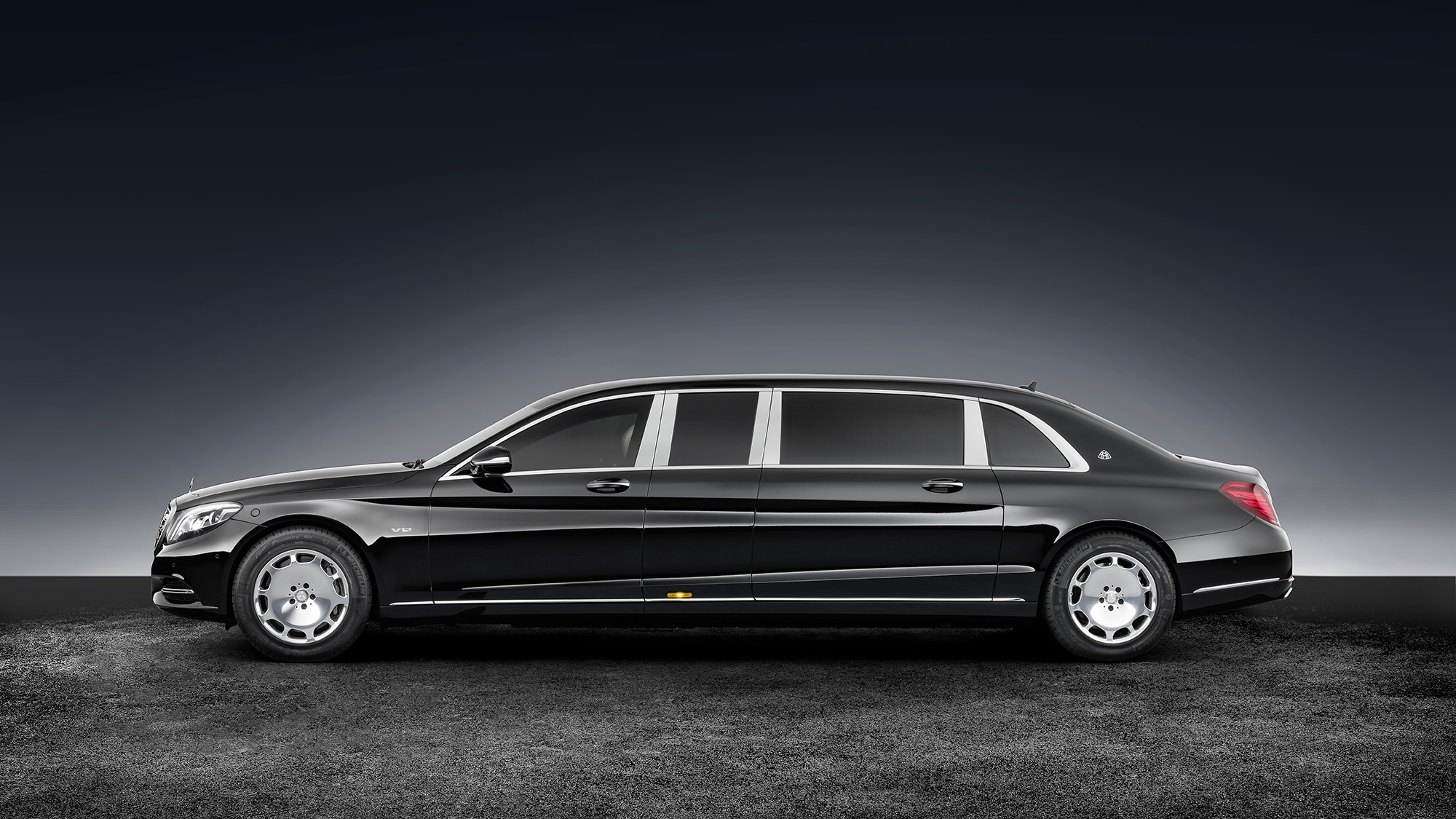 2017 Mercedes-Maybach S600 Pullman Guard