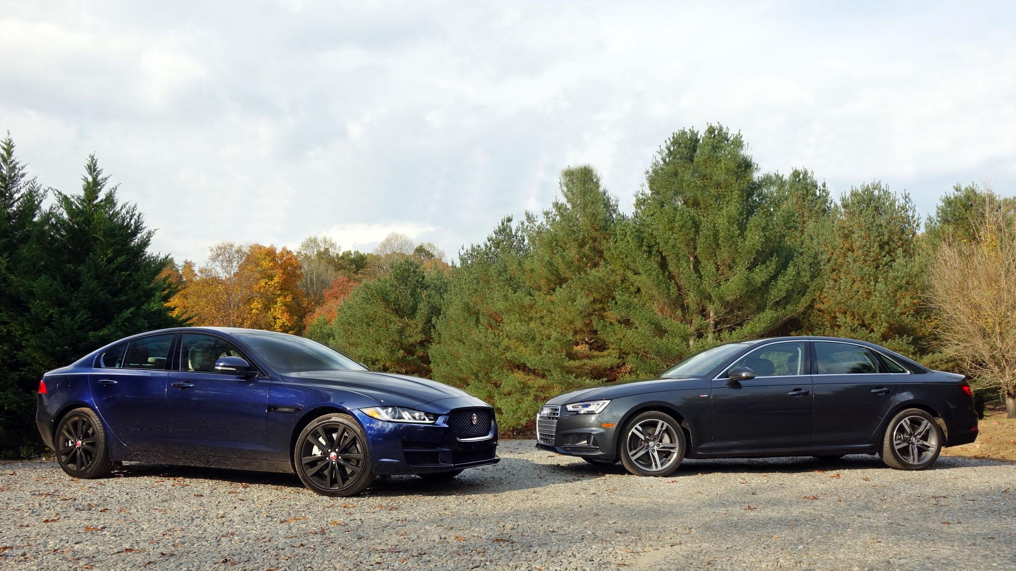 Jaguar XE vs. Audi A4