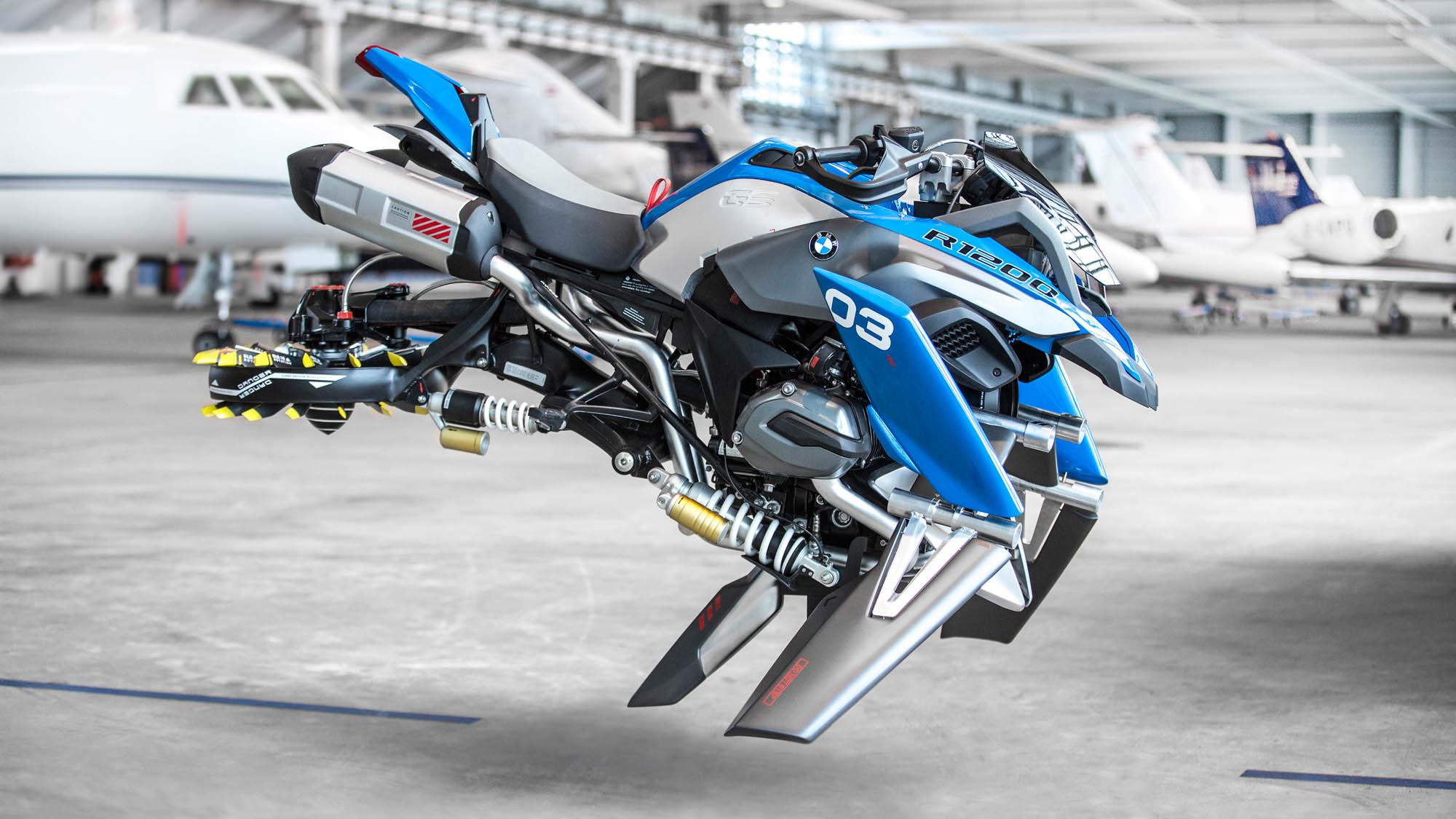 Lego Technic BMW Motorrad R 1200 GS Adventure Hover Ride