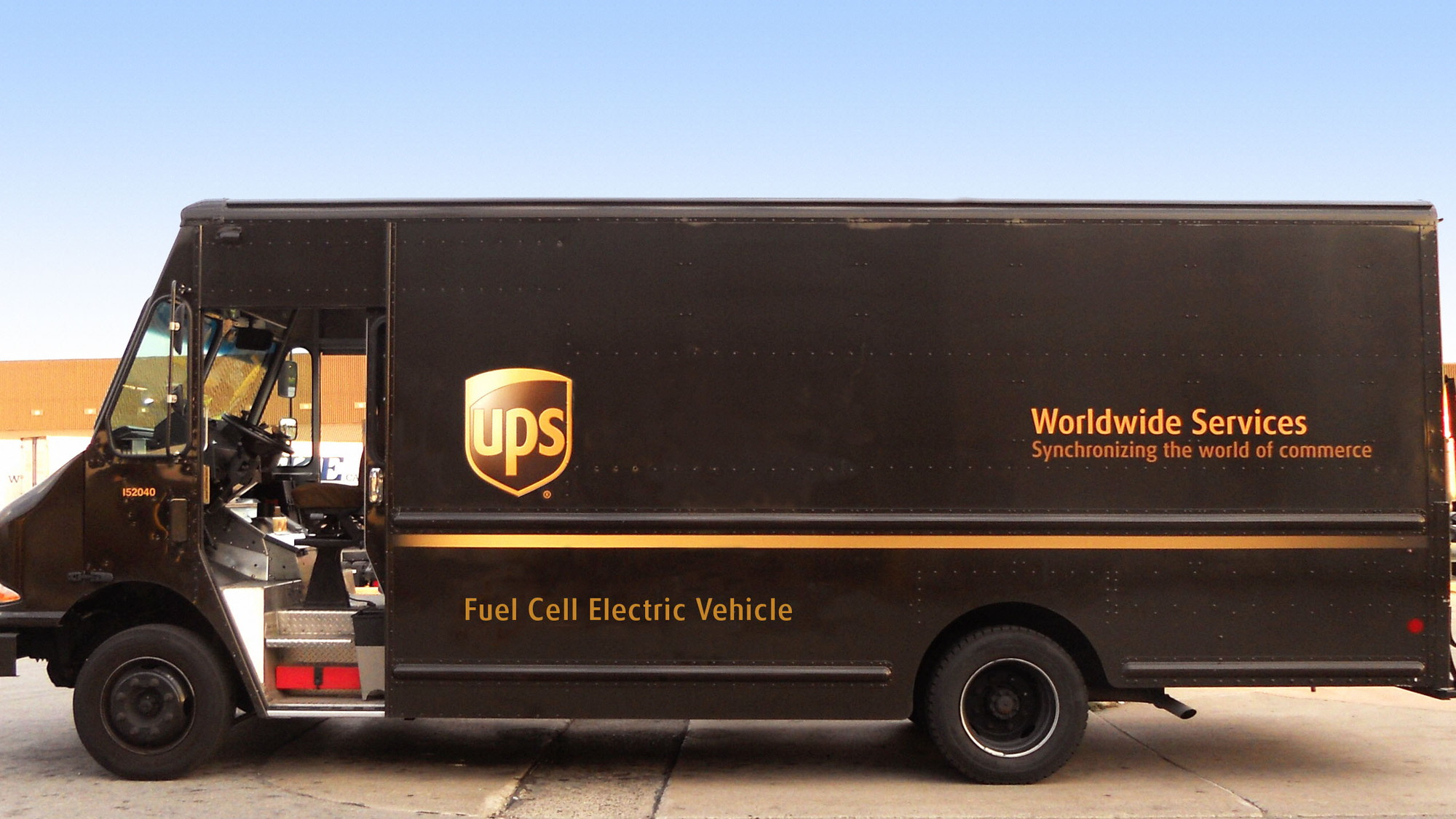 Prototype plug-in electric delivery van with fuel-cell range extender to be tested by UPS in 2017