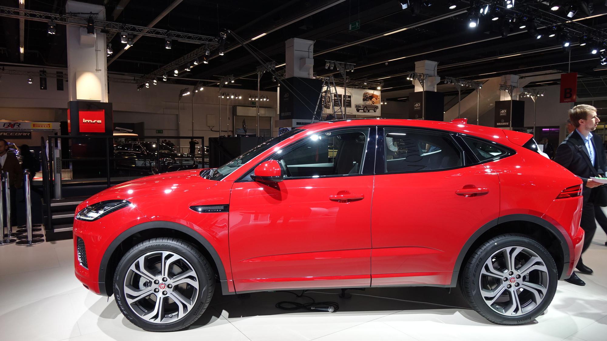 2018 Jaguar E-Pace, 2017 Frankfurt auto show