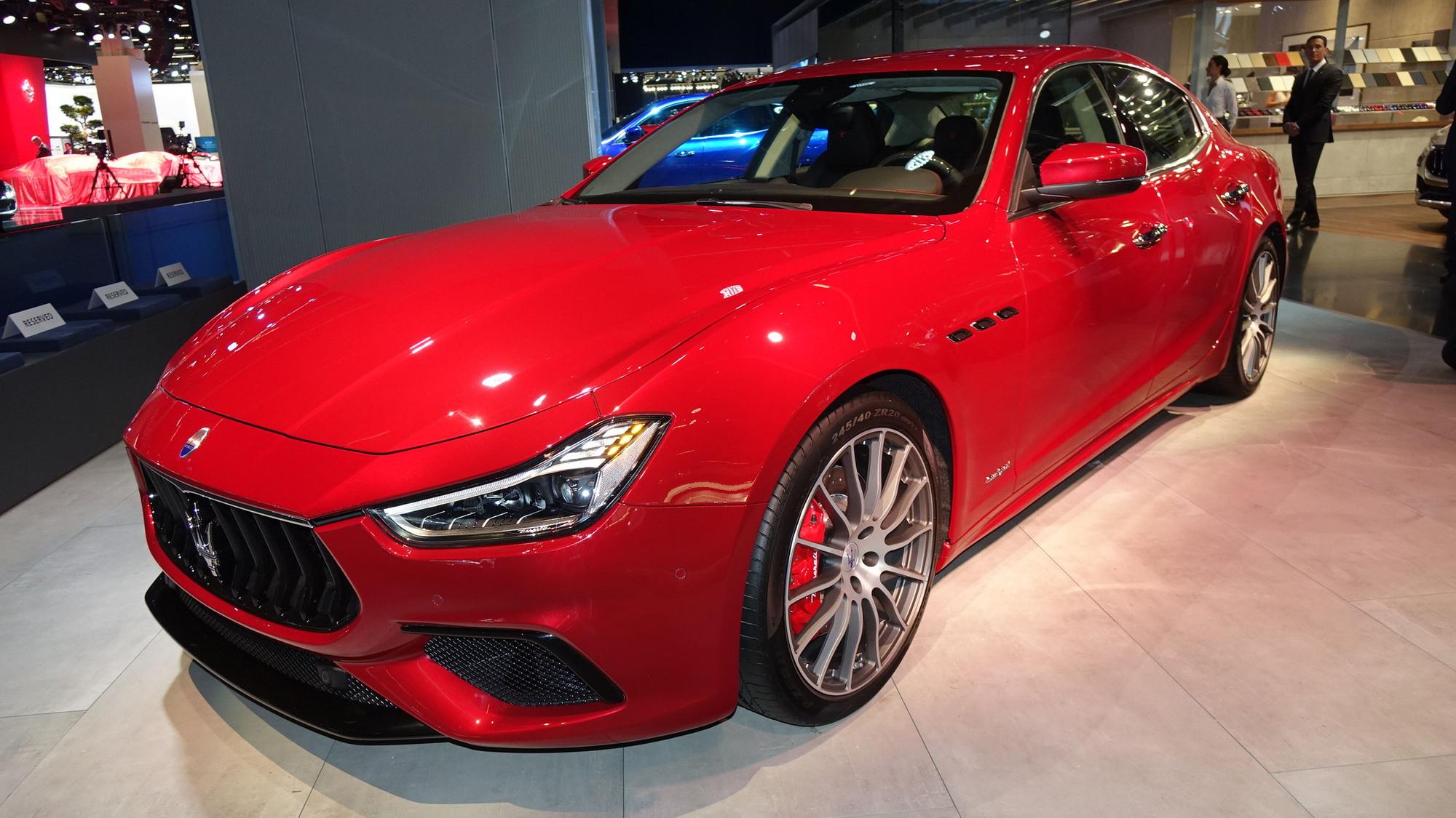 2018 Maserati Ghibli, 2017 Frankfurt Motor Show