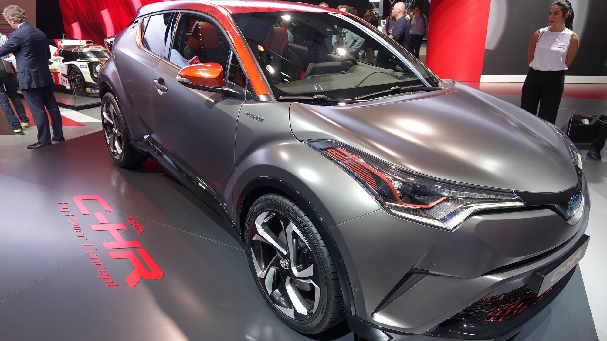 Toyota C-HR Hy-Power concept, 2017 Frankfurt Motor Show