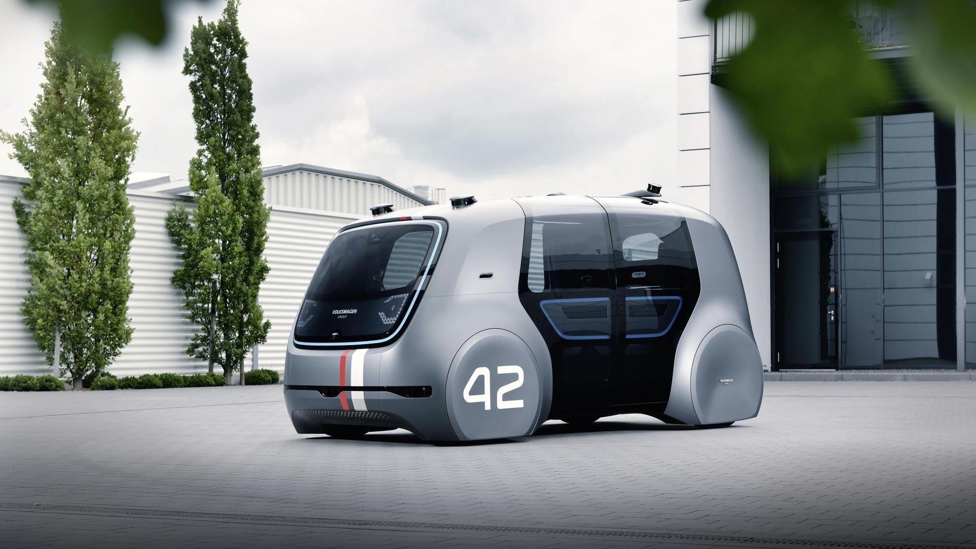 Volkswagen Group Sedric concept, 2017 Frankfurt Motor Show