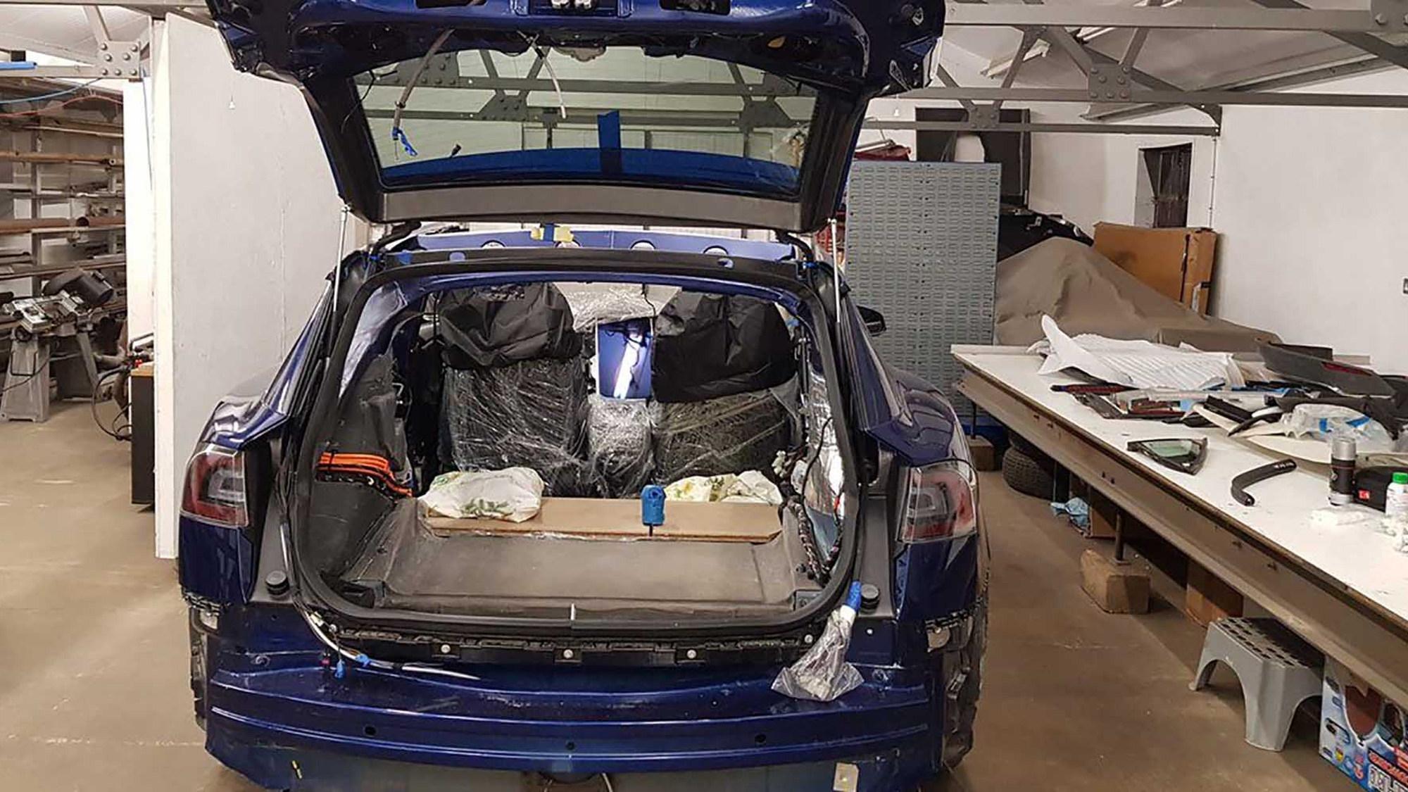 UK firm builds Tesla Model S shooting brake