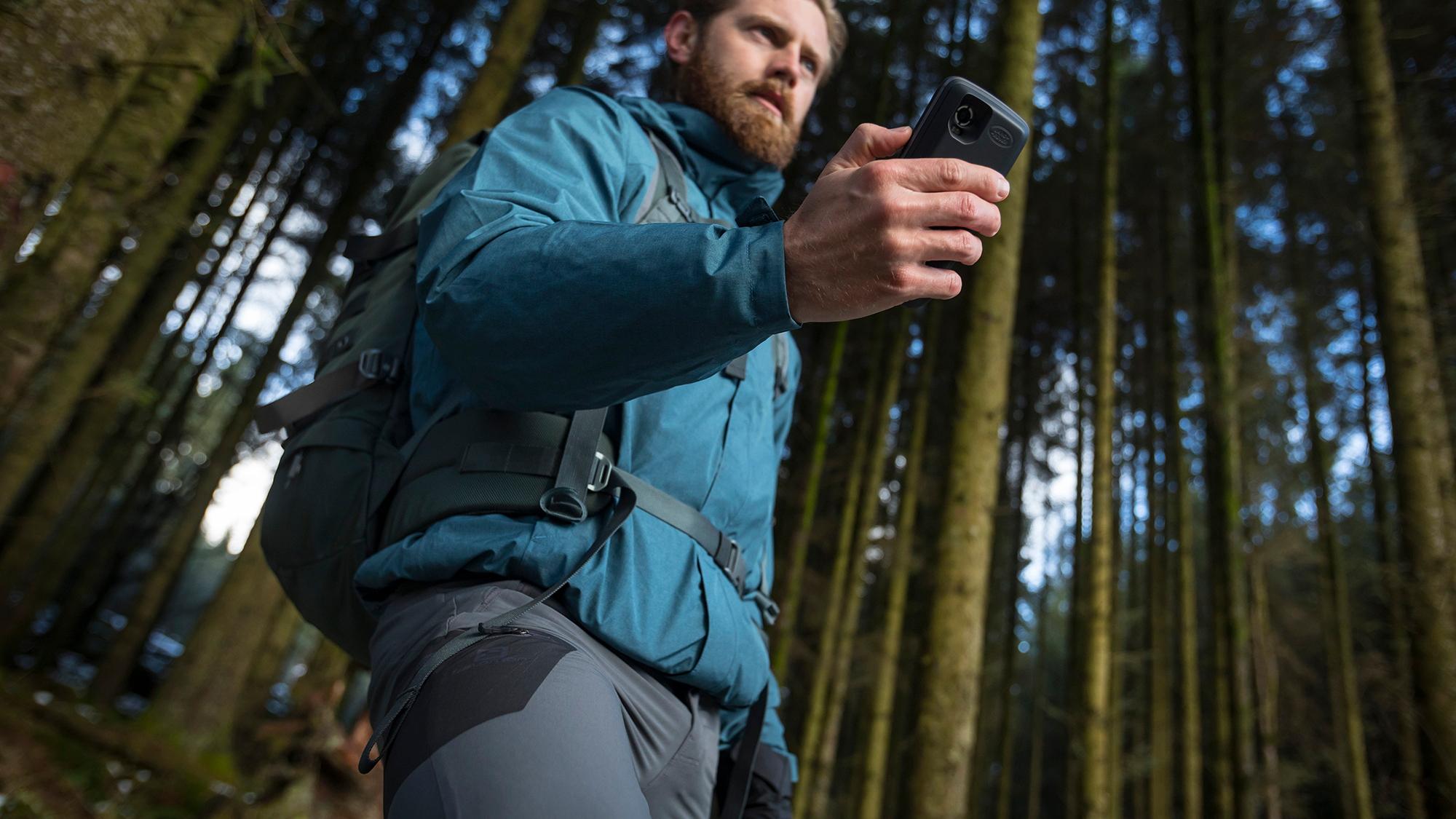 Land Rover Explore smartphone