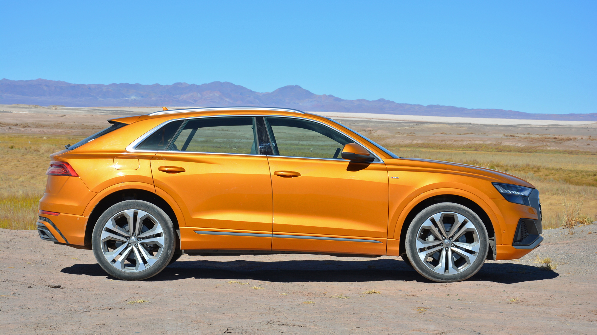 2019 Audi Q8, Atacama Desert, Chili, media drive, June 2018