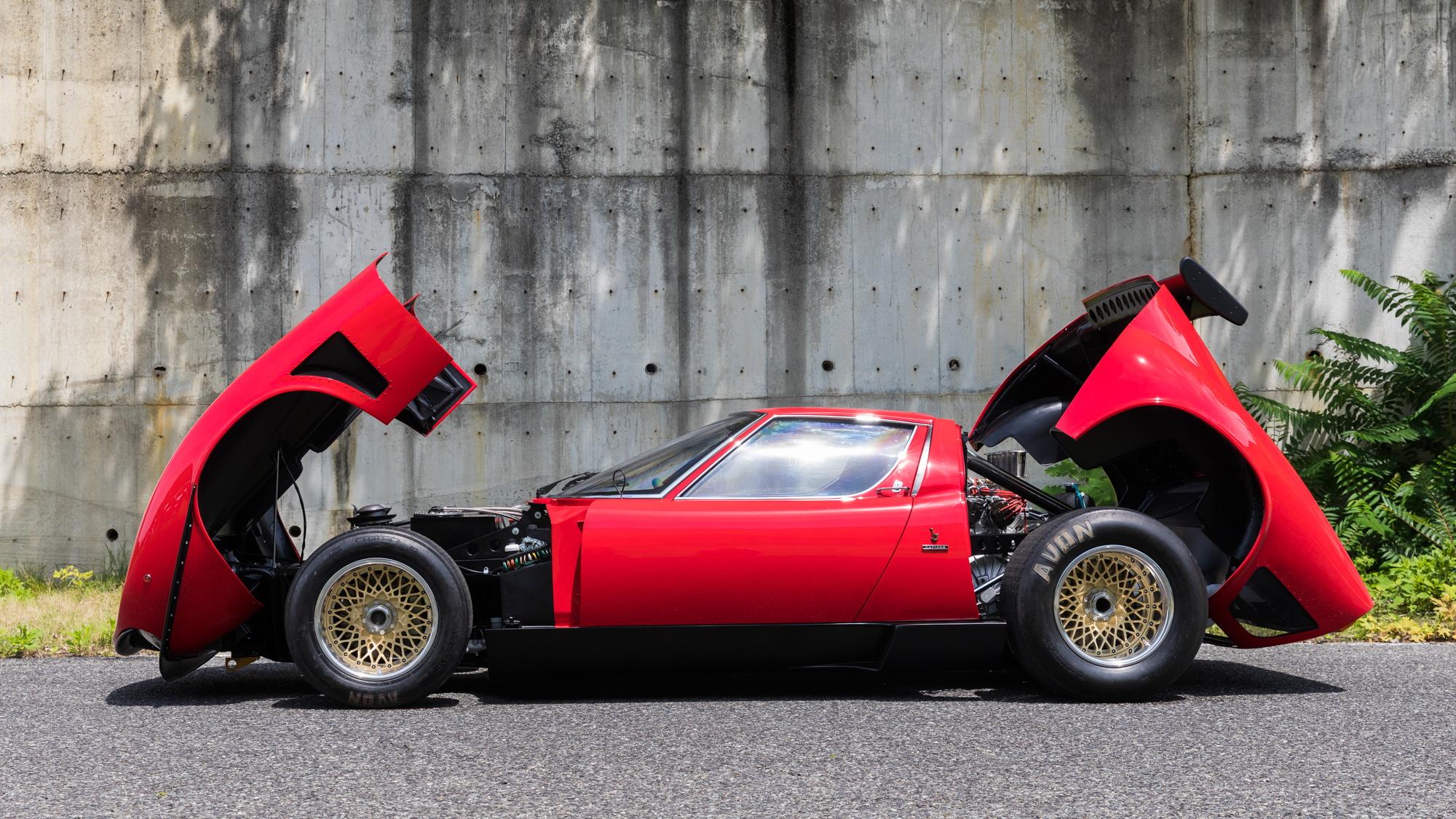 Lamborghini Miura SVR restored by Polo Storico