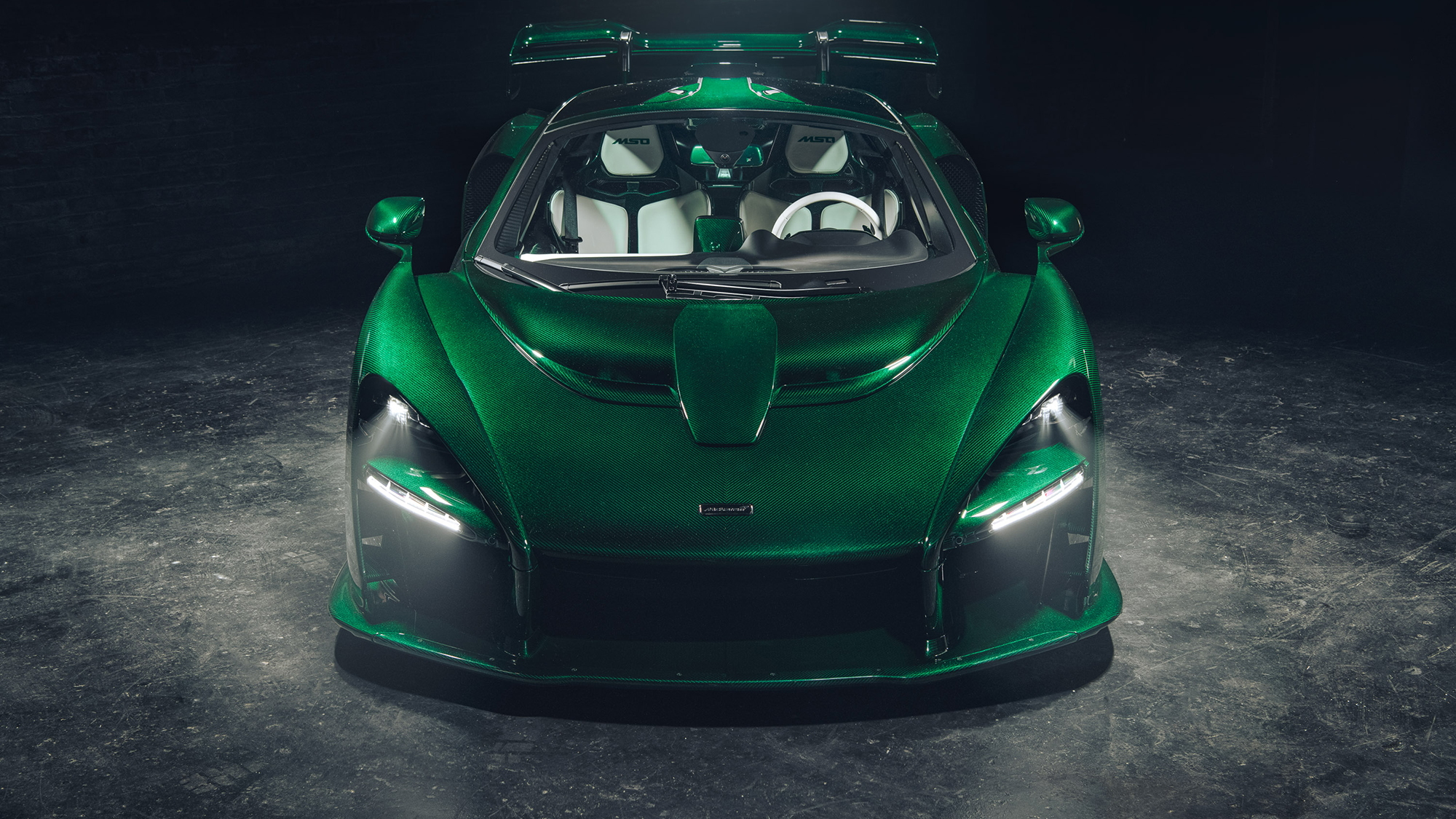 First McLaren Senna in the United States