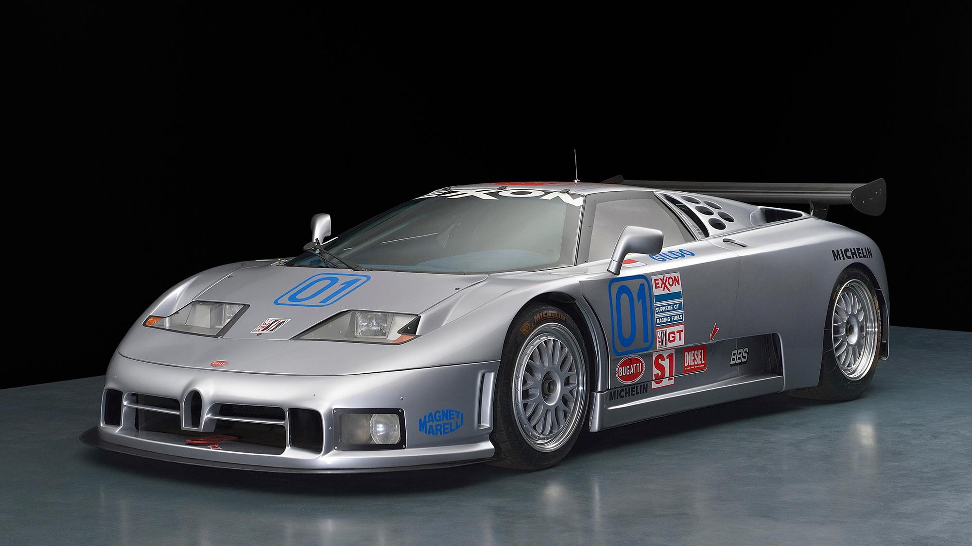 Bugatti EB110 SC GTS-1