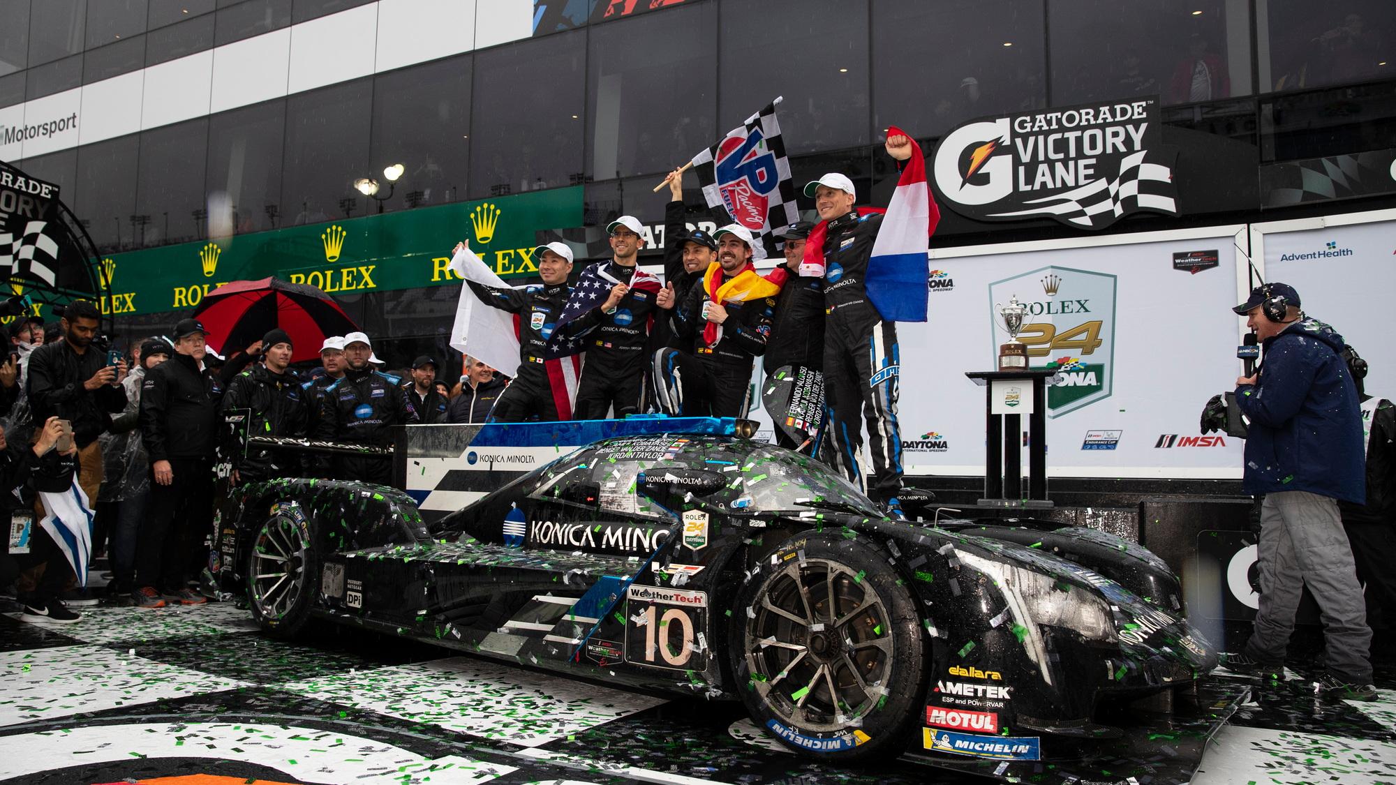 Konica Minolta Cadillac DPi-V.R wins 2019 Rolex 24 at Daytona