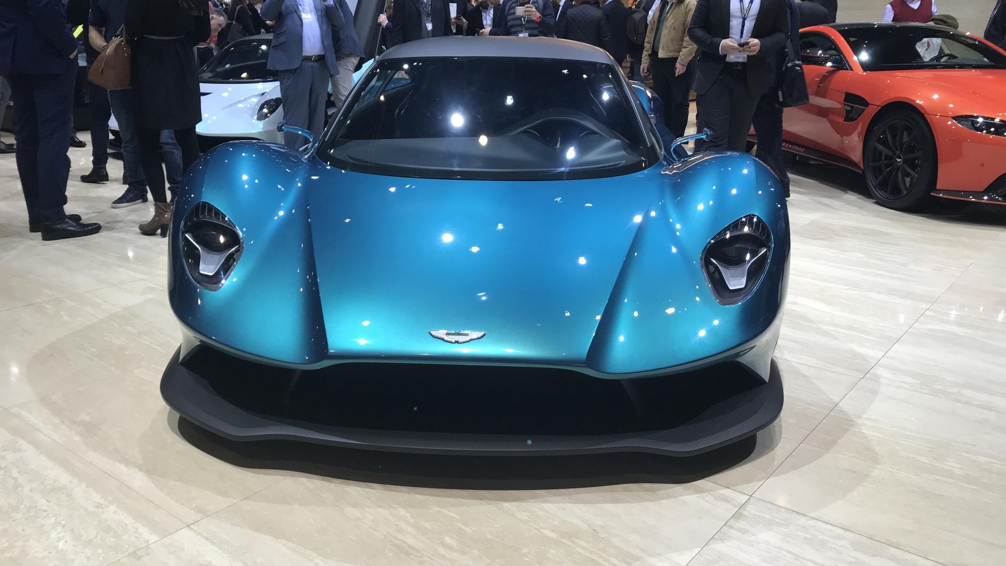 Aston Martin Vanquish Vision concept, courtesy Jill Ciminillo