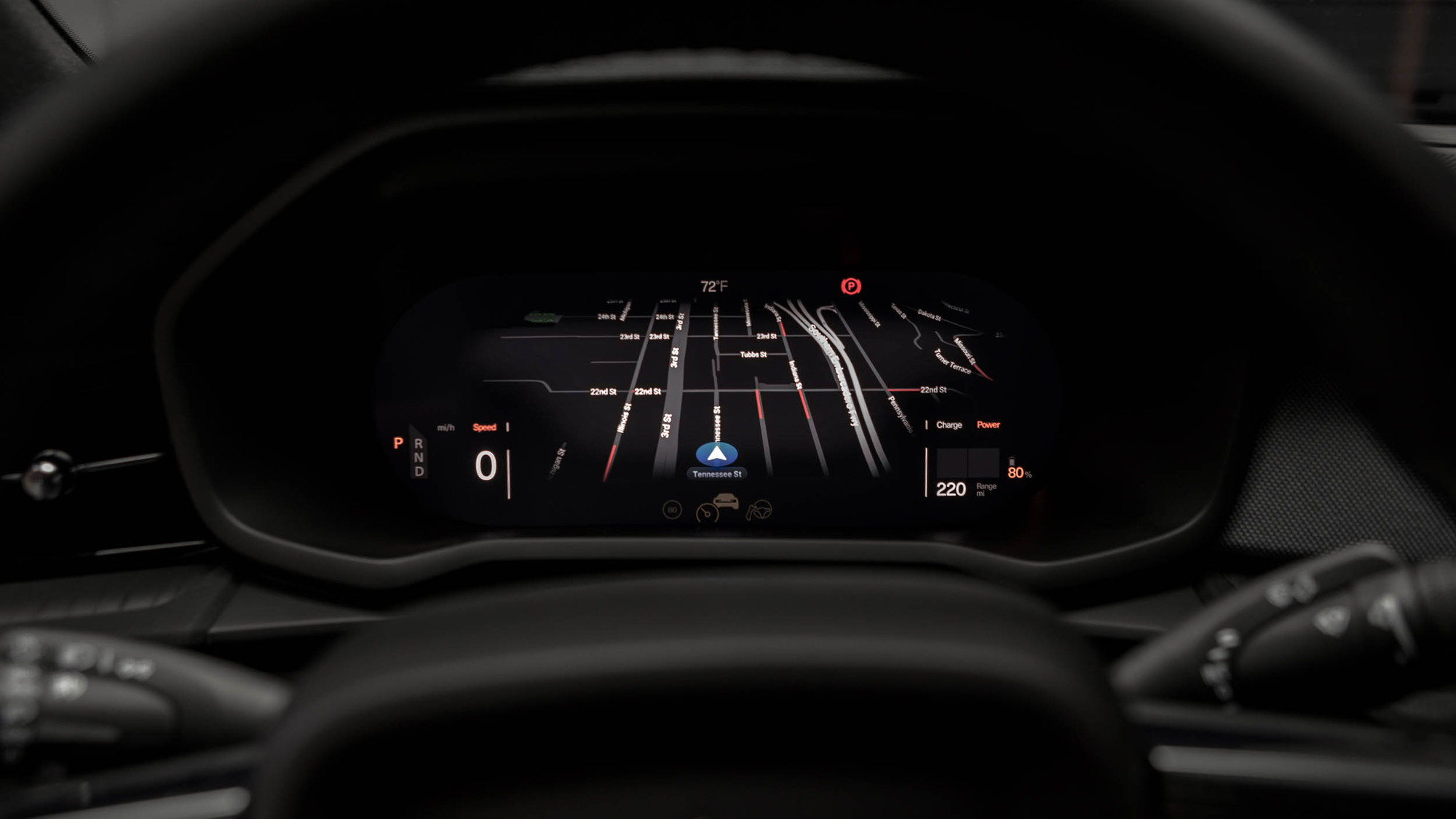 Google's Android-based infotainment in the Polestar 2