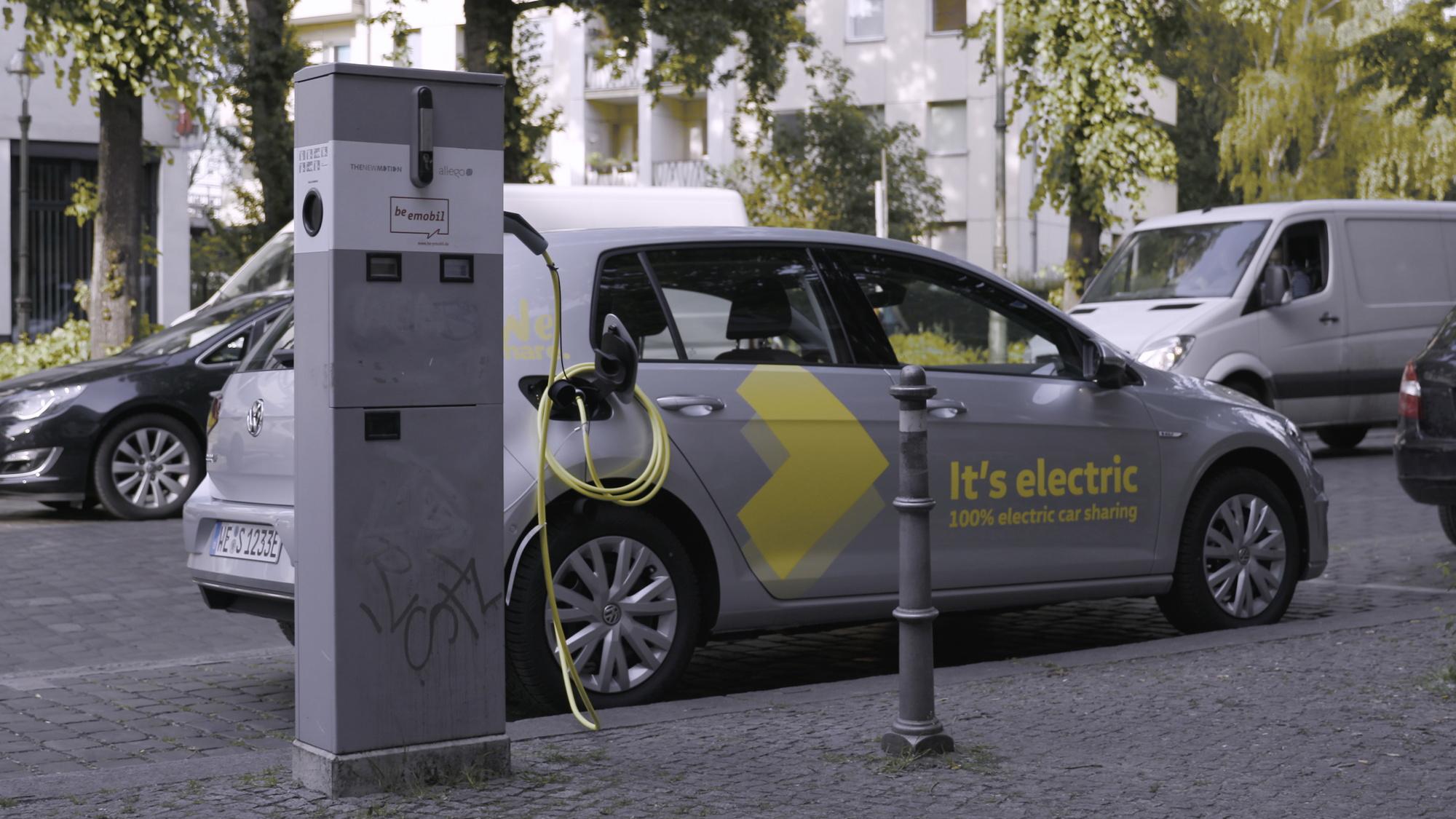 Volkswagen WeShare car-sharing service