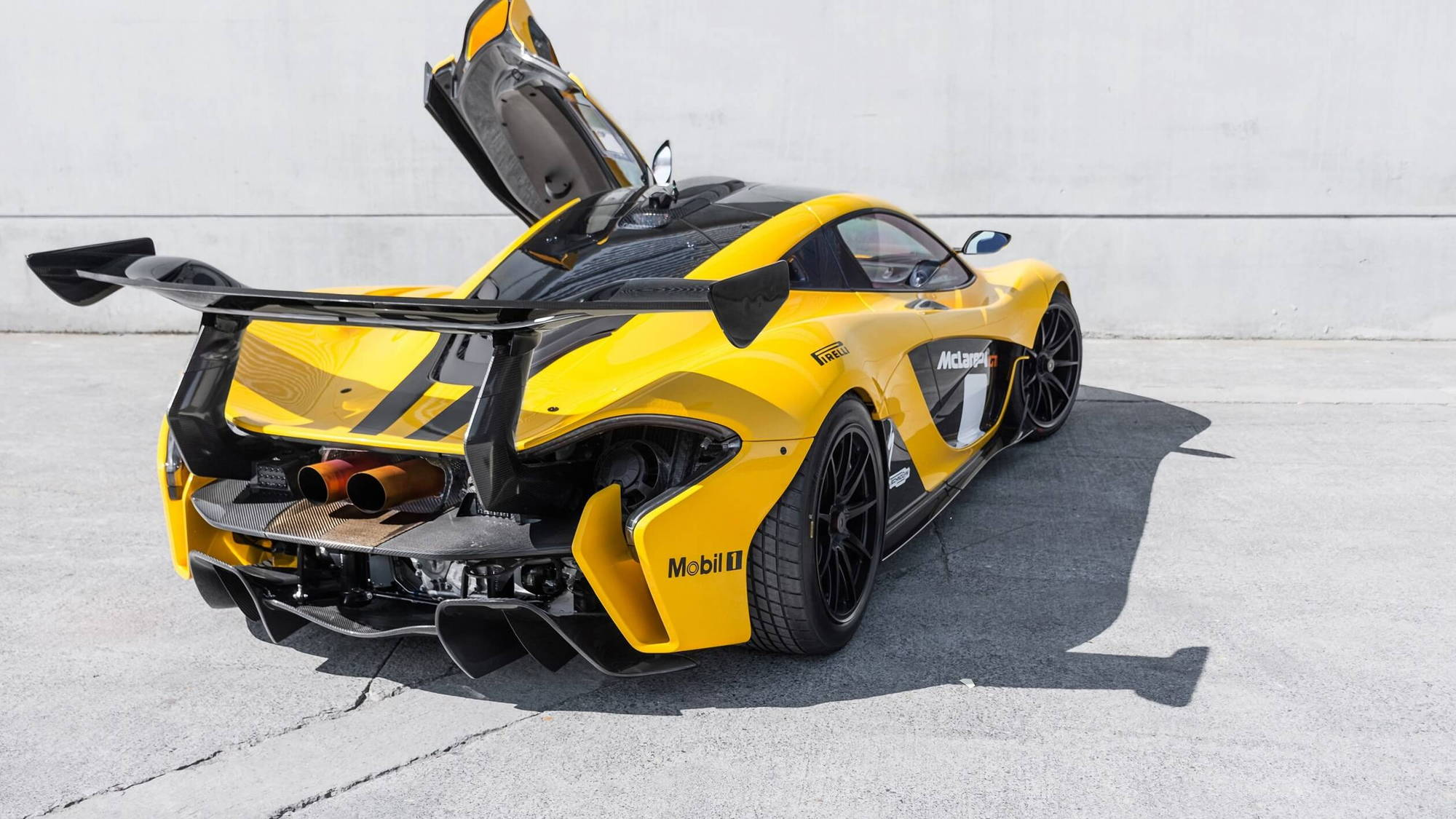 McLaren P1 GTR for sale with street-legal conversion