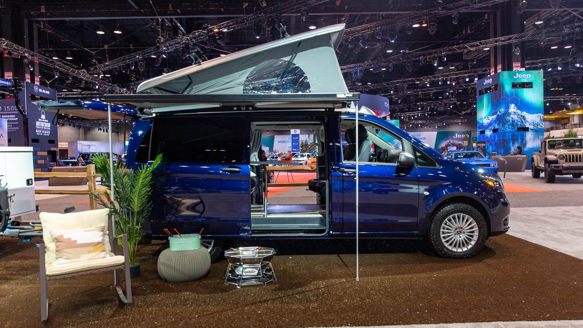 2020 Mercedes-Benz Weekender, 2020 Chicago Auto Show