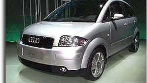 1999 Audi A2, Frankfurt Auto Show