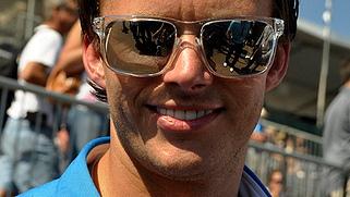 Dan Wheldon. Photo by 2011 Anne Proffitt