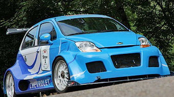 Corvette LS7-powered Chevy Spark