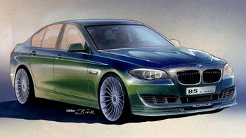 2011 BMW Alpina B5 teaser image