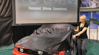 2010 ROUSH mustang unveil