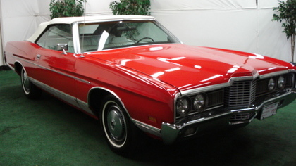 Sharon Stone's 1972 Ford Ltd Convertible