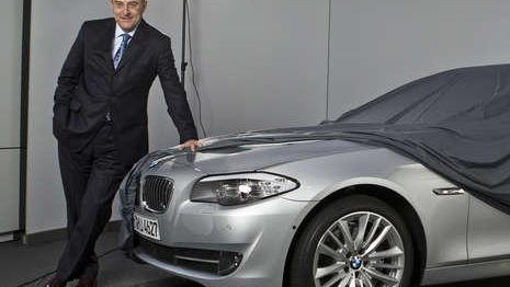 2011 BMW 5-Series leak