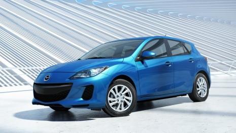 2012 Mazda MAZDA3 with SkyActiv