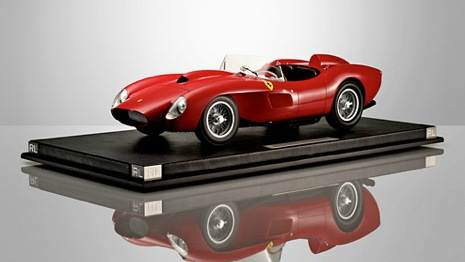 Models cars from the Ralph Lauren Home Collection