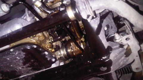 NAGTROC Nissan GT-R engine failure